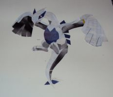 pokemon collage WIP-lugia done by Talonsword