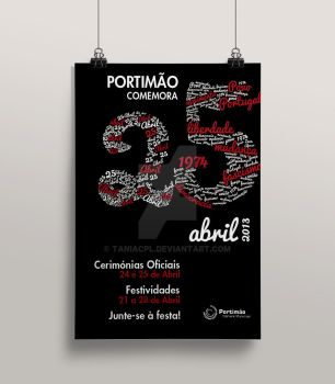 25 de Abril - poster by taniacpl