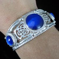 Celtic Queen Bracelet Cuff by camias