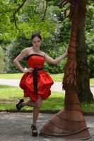 Red Satin 19 by Anariel-Stock