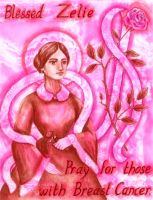 Patroness gainst Breast Cancer by FireFiriel