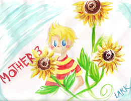 MOTHER3 - Lucas by LarkIsMyName