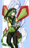 Gonner The Flygon. by toyotami