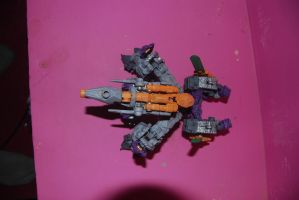 dark of the moon Galvatron by Shenron-Customs