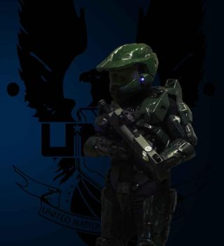 UNSC Master Chief armor by Emrys-Janson