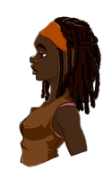 Michonne by ZloiPups