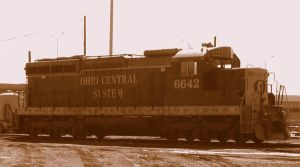 Ohio Central SD18M 6642 by LDLAWRENCE