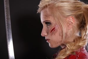 Katana Stock 6 - Potrait by KaylaDavion
