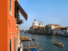The Grand Canal in Venice by JJPoatree
