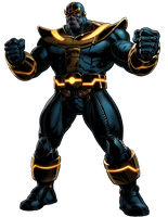 Marvel Avengers Alliance Thanos by ratatrampa87