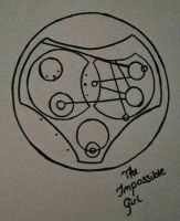 The impossible girl Gallifreyan by asm2019