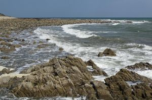 Rocks and waves by UdoChristmann