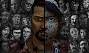 TWD - Lee and Clem 2 sides (Alternative Version) by LadyKillerYT