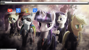 Suited And Suave (badass-mode)(Chrome Theme) by Daring-Dash-Hoof