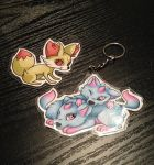 Keyrings :D by Myklor