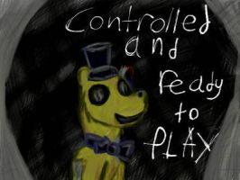 Golden Freddy (FNAFs Last Words Series) by HorrorPony18