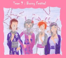 Team 9, Bunny Festival by Pack69Alpha
