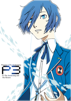 Persona 3: The Awakening Chapter 1 Title page by HayateTsujimoto