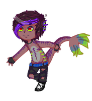 Cyr Pixel Chibi by Consumed-By-Insanity