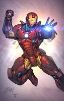 Ironman flight by juan7fernandez