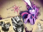 Twilight Sparkle wallpaper by PPDraw