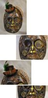 Steampunk Mask by ajldesign