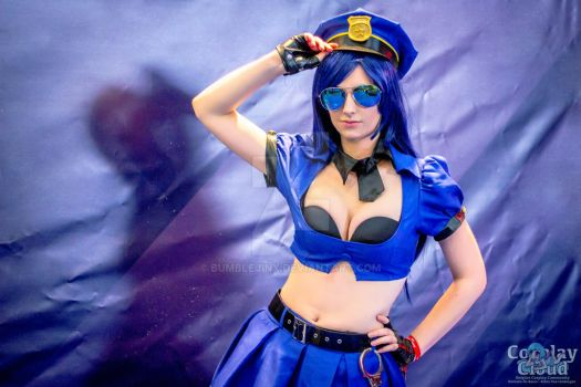 officer caitlyn by bumblejinx