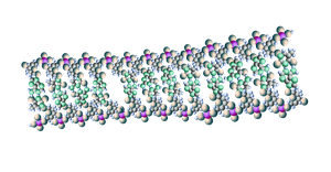 Deoxyribonucleic acid - DNA by Abstract-scientist