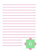 Spanish N Stationary by The-Lovely-Fagot