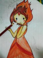 Flame Princess by shinebrightlysmile