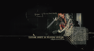 tay is playing guitar by AshleyJoker