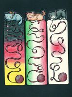 Catalia: Axis Bookmarks by NatureLover625