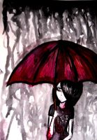Raining Misery by LadyOFsorrowsX3