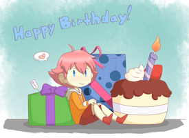 clever title about cake or something by Flamongirl13
