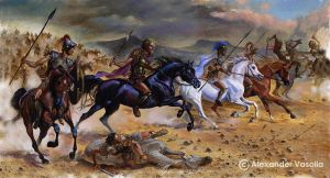 Alexander Charge by wolfman007