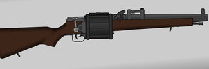 Krkov-Pilaniek revolving rifle by Semi-II