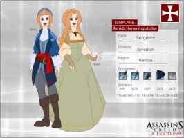 ACD:: Astrid Hemmingsdotter Gadh NEW by MakiLoomis