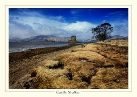 Castle Stalker, Scotland by ArwensGrace