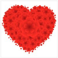 Love-Red-Flowers by vectorbackgrounds