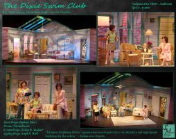 The Dixie Swim Club - Scenic Design by smours