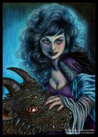 Lady and Dragon by Verlisaerys
