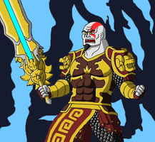 PS Allstars: Kratos level 3 by Brian12