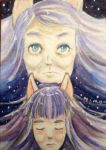ACEO- Mother Please by ScribbleBees
