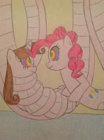 Lamia Pinkie Pie and Moonbright Shine by SqueakyNoodle