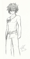 Fairy Tail: Gray Fullbuster by Maygirl96