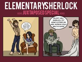 Elementary/Sherlock Special by maryfgr23