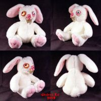 Bob Boogi da Bunny plush ooak by Undead-Art
