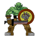 Orc Grunt 2 by Spectrallynx