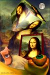 Dreaming a cubical Mona Lisa by Karolusdiversion