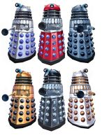 Daleks colours by Harnois75